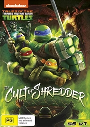 Teenage Mutant Ninja Turtles - Cult Of Shredder - Season 5 - Vol 1 | DVD