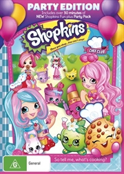 Shopkins Chef Club | Party Edition | DVD