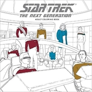 Star Trek The Next Generation Adult Coloring Book | Colouring Book
