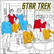 Star Trek  The Original Series Adult Coloring Book | Colouring Book