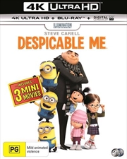 Despicable Me | Blu-ray + UHD + UV