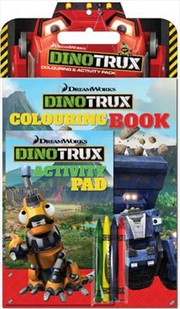Dinotrux Colouring Activity Pk