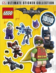 Lego Batman Movie Ultimate Sti | Paperback Book