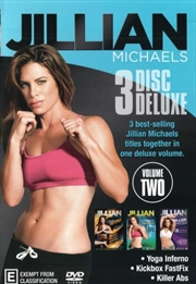 Jillian Michaels - 3 Disc Deluxe - Volume 2