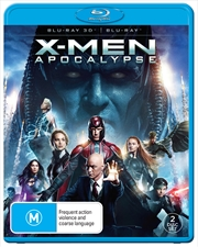 X-Men Apocalypse | 3D + Blu-ray