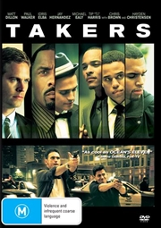 Takers | DVD