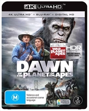 Dawn Of The Planet Of The Apes | Blu-ray + UHD + UV