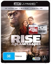 Rise Of The Planet Of The Apes | Blu-ray + UHD + UV