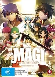 Magi - The Labyrinth Of Magic - Season 1