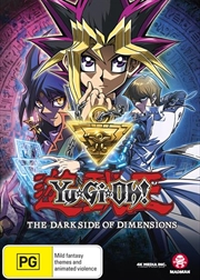 Yu-Gi-Oh - The Dark Side Of Dimensions | DVD