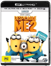 Despicable Me 2 | Blu-ray + UHD + UV