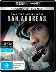 San Andreas - UHD + Blu-ray
