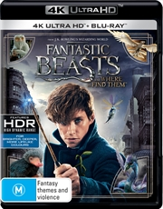 Fantastic Beasts and Where to Find Them | Blu-ray + UHD