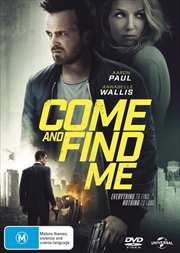 Come And Find Me | DVD