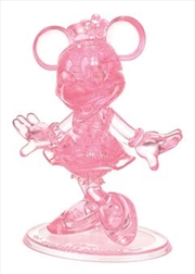 Minnie Mouse Disney 3D Crystal Puzzle