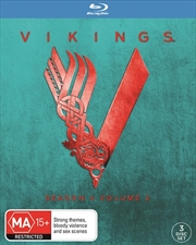 Vikings - Season 4 - Part 2 (EXCLUSIVE COVER) | Blu-ray