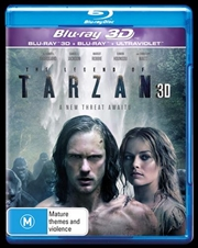 Legend Of Tarzan | 3D + 2D Blu-ray + UV, The