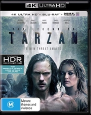 Legend Of Tarzan | Blu-ray + UHD + UV, The