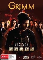 Grimm - Season 1-5 | Boxset | DVD
