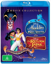 Aladdin - The Return Of Jafar / Aladdin And The King Of Thieves | Blu-ray