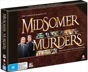 Midsomer Murders - Season 1-4 - Limited Edition | Collection | DVD