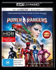 Power Rangers - The Movie | Blu-ray + UHD