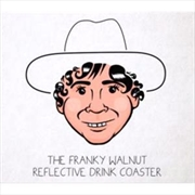 Franky Walnut Reflective Drink Coaster | CD
