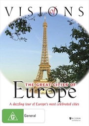Visions Of The Great Cities Of Europe | DVD