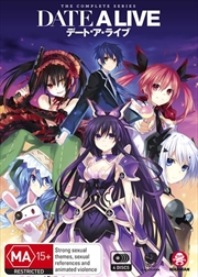 Date A Live - Season 1-2 | Series Collection