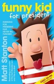 Funny Kid For President | Paperback Book