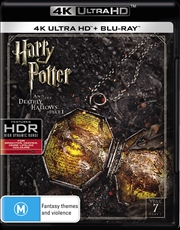 Harry Potter And The Deathly Hallows - Part 1 | Blu-ray + UHD - Year 7