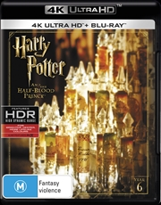 Harry Potter And The Half-Blood Prince | Blu-ray + UHD - Year 6