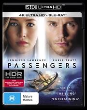 Passengers | Blu-ray + UHD
