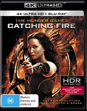 Hunger Games - Catching Fire | Blu-ray + UHD