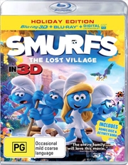 Smurfs: The Lost Village (Bonus Disc + Activity Book)