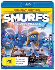 Smurfs - The Lost Village | UV - Bonus Disc + Activity Book