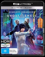 Ghost In The Shell | Blu-ray + UHD