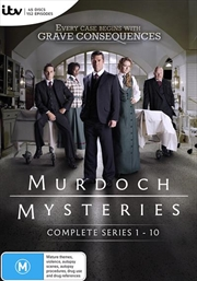 Murdoch Mysteries - Series 1-10 | Boxset