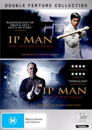 IP Man - The Legend Is Born / The Final Fight   Double Pack