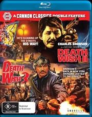 Death Wish 2 / Death Wish 3 | Blu-ray + DVD - Cannon Classics
