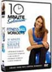 10 Minute Solution: Fitness Ball Workout (Includes 65cm Fitball)