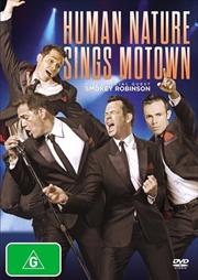 Sings Motown