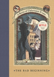 A Series Of Unfortunate Events: The Bad Beginning | Hardback Book