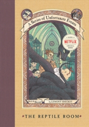 A Series Of Unfortunate Events: The Reptile Room | Hardback Book