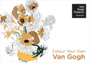 Colour Your Own Van Gogh Colouring Books | Colouring Book