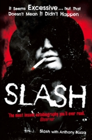Slash The Autobiography | Paperback Book