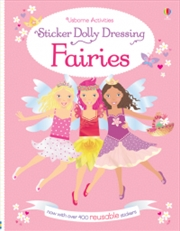 Sticker Dolly Dressing Fairies | Paperback Book