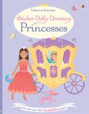 Sticker Dolly Dressing Princes | Paperback Book