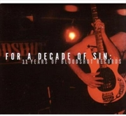 For A Decade Of Sin | CD