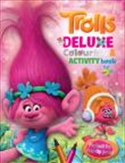 Trolls Deluxe Colouring Book